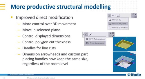 Sneak Preview of Tekla 2017 Software for Structural Engineering