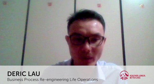 Driving Digital Transformation with RPA at AIA Singapore
