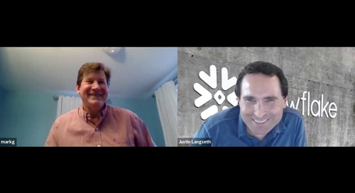 Snowflake Data Marketplace & Weather Source Video Interview