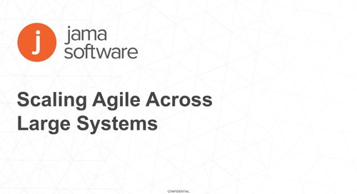 Scaling Agile Across Large Systems