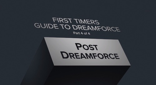 Post-Dreamforce Guide