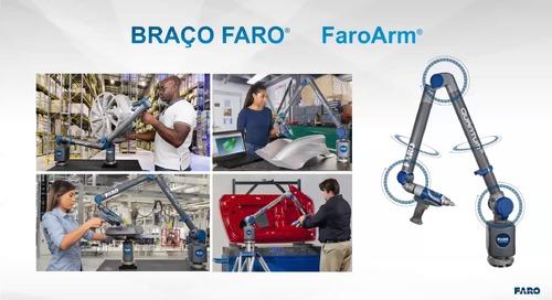 Reduza o tempo de inspeção e aumente a precisão com o FaroArm e 8-Axis [webinar]