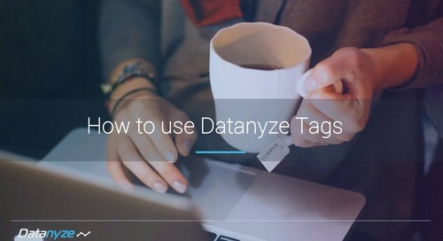 How to Use Datanyze Tags