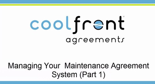 Coolfront Agreements Part 1 - Materials Needed