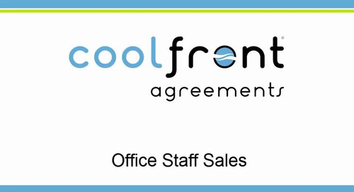 Coolfront Agreements - Office Staff Sales