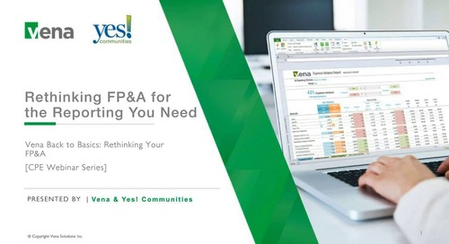 Rethinking FP&A for the Reporting You Need