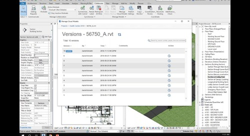 Enhanced Cloud-based Revit Worksharing