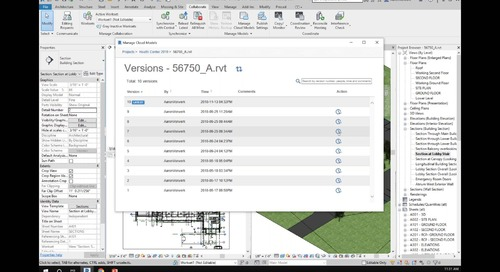 Enhanced Cloud-based Revit Worksharing
