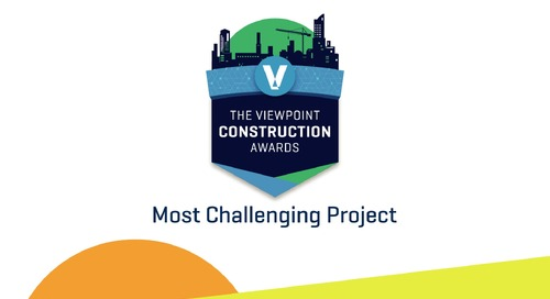 2020 Viewpoint Construction Award Winner - Turnagain Marine