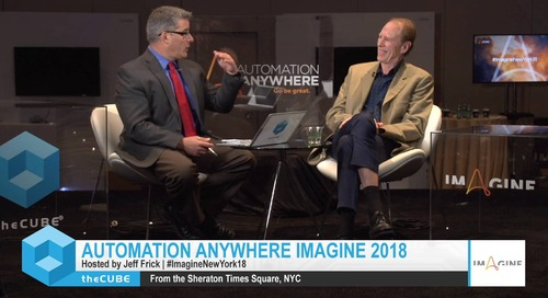 Craig Le Clair, Forrester, Imagine New York 2018 Interview