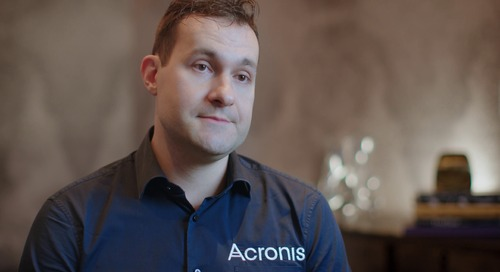 We are using 6sense to increase renewals and prevent churn - Acronis