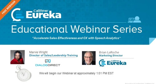 How Dialog Direct Accelerates Sales Effectiveness and CX