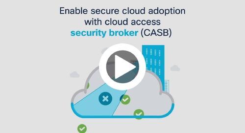 Cisco Umbrella cloud access security broker (CASB)