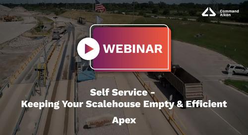 Self Service - Keep Your Scalehouse Empty & Efficient | Apex Webinar