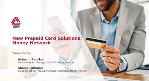 New Prepaid Card Solutions Money Network (Internal)