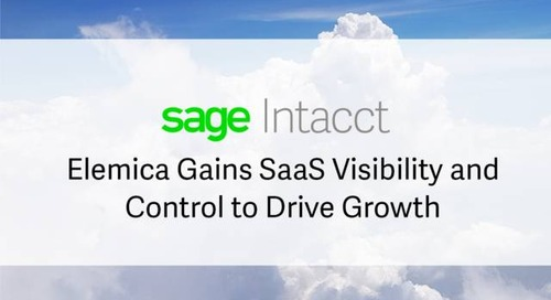 Elemica Gains SaaS Visibility and Control to Drive Growth