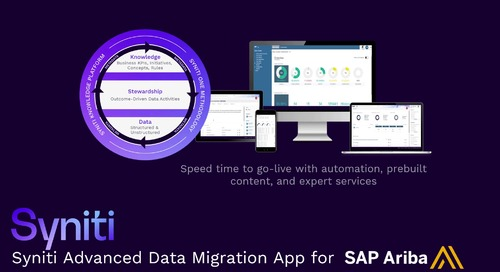 SAP Advanced Data Migration for SAP Ariba