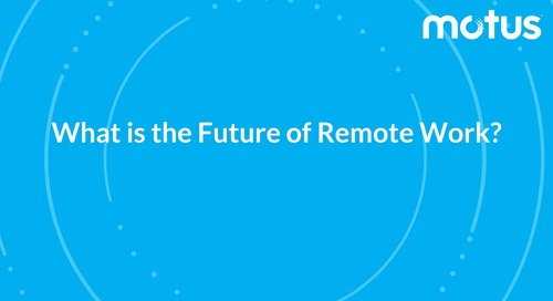 What Is The Future of Remote Work?