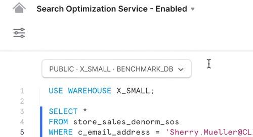 Demo - Search Optimization Service
