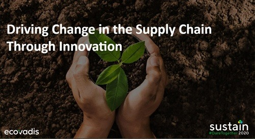 Driving Change in the Supply Chain Through Innovation, Sustain 2020