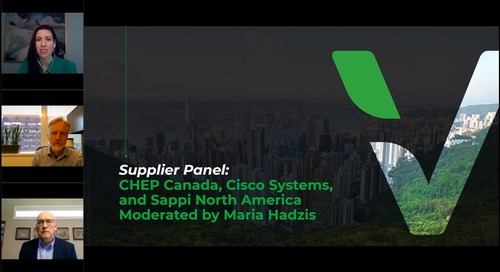 Panel Discussion- Platinum-Rated Supplier Best Practices