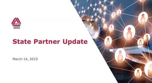 State Partner Bi-Monthly Meeting - March 2019