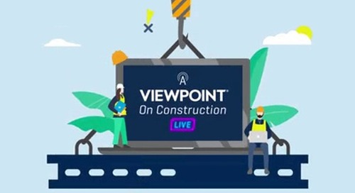A Viewpoint on Construction Live - May 13, 2020
