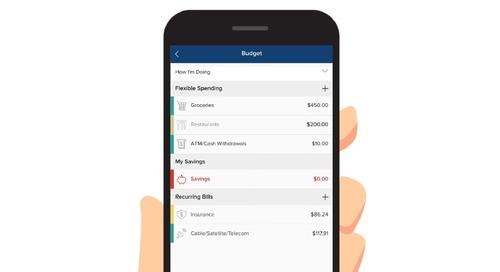 FinApp: Envestnet | Yodlee Budgets