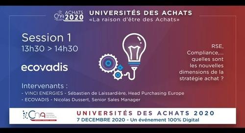 [CNA-Universités des Achats] Atelier avec Vinci Energies