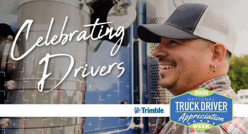 Trimble Celebrates National Truck Driver Appreciation Week