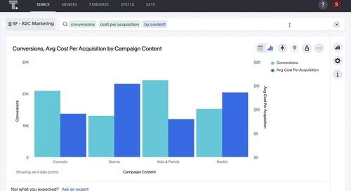 ThoughtSpot for B2C Marketing Analytics