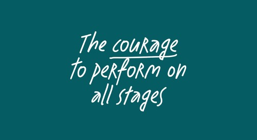 The courage to perform on all stages - feat. Adam Goodes