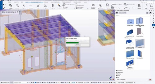 BIM for Precast - Tekla Structures in 45 minutes