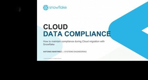 Cómo cumplir con las regulaciones de datos en la nube