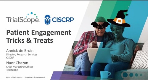 Patient Engagement Tricks and Treats