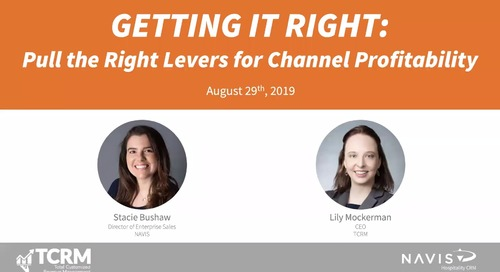 Getting it right: Pull the right levers for channel profitability