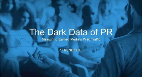 The Dark Data of PR: Measuring Your Web Traffic
