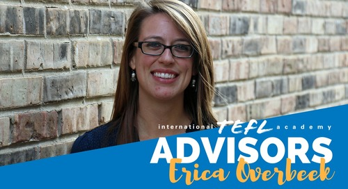 International TEFL Academy Advisor - Erica Overbeek