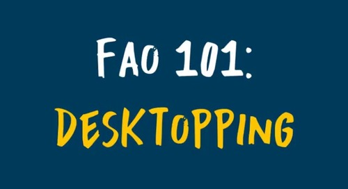Desktopping | FAO 101