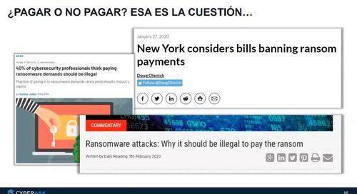 Como una estrategia de gestión de privilegios ayuda mitigar el riesgo ante ransomware