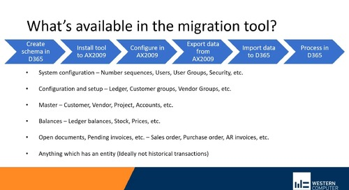Options for Transitioning from Dynamics AX to Dynamics 365 Finance and Operations