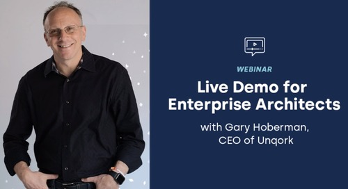 Webinar: Gary's Demo for Enterprise Architects