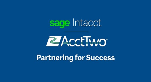 Sage Intacct Partner AcctTwo || Marcus Wagner