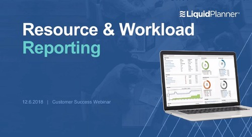 Resource and Workload Reporting Webinar