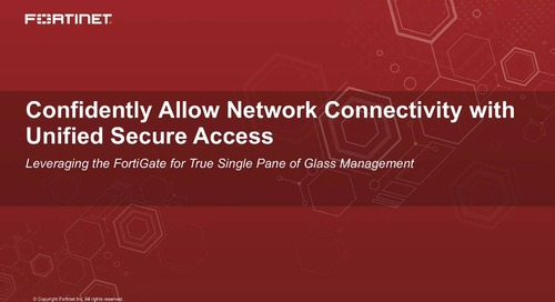 Confidently Allow Network Connectivity with Unified Secure Access