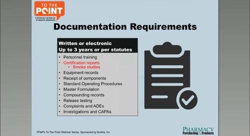 [Webinar] USP Compliance: Staff Training for USP <800>