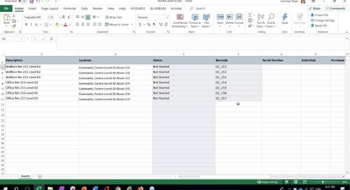 BIM 360 Assets - Core Training - Oct 2020