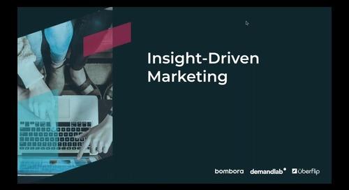 [On-Demand] Insight-Driven Marketing