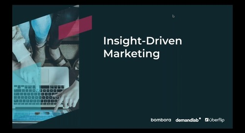 [On-Demand] Insight-Driven Marketing