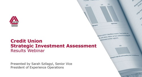 Credit Union Strategic Investment Assessment: Understanding Your Results Package